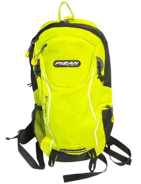 Turistický batoh FIZAN Light 25l - reflexní zelená